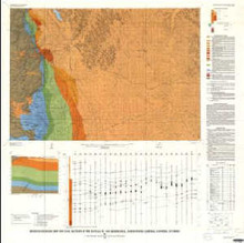 Bedrock Geologic Map and Coal Sections in the Buffalo 30' x 60'Quadrangle, Johnson and Campbell counties, Wyoming