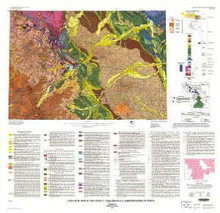 Geologic map of the Cody 1° by 2° Quadrangle, northwestern Wyoming **TEMPORARILY OUT OF STOCK**