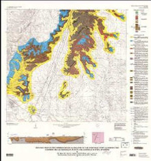 Geologic map of Precambrian rocks along part of the Hartville Uplift, Guernsey and Casebier Hill quadrangles, Platte and Goshen counties, Wyoming **TEMPORARILY OUT OF STOCK**