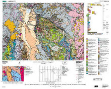 Geologic map of the Ennis 30' x 60' Quadrangle, Madison and Gallatin counties, Montana, and Park County, Wyoming