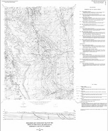 Preliminary Geologic Map of the Hole-In-The-Wall Quadrangle, Johnson County, Wyoming (1998)