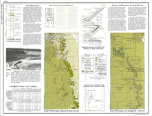 Campbell County, Wyoming: Geologic Map Atlas and Summary of Land, Water and Mineral (1974)