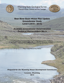 Bear River Basin Water Plan Update Groundwater Study Level II (2010–2014)—Available Groundwater Determination