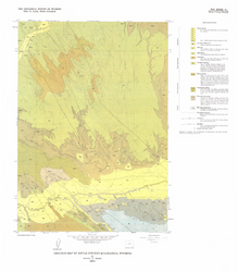 Geologic Map of Devils Kitchen Quadrangle, Wyoming (1986)
