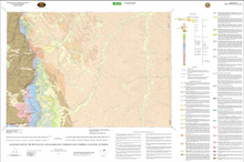 Geologic Map of the Buffalo 30' x 60' Quadrangle, Johnson and Campbell Counties, Wyoming