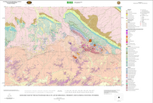 Geologic Map of the Rattlesnake Hills 30' x 60' Quadrangle, Fremont and Natrona Counties, Wyoming