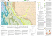 Geologic Map of the Kaycee 30' x 60' Quadrangle, Johnson, and Campbell Counties, Wyoming