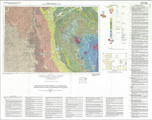 Geologic Map of the Gillette 1° x 2° Quadrangle, Northeastern Wyoming and Western South Dakota (1990)
