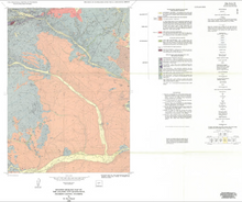 Revised Geologic Map of the Atlantic City Quadrangle, Fremont County, Wyoming