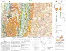 (WSGS) Geologic Map of the Kemmerer 30' x 60' Quadrangle, Lincoln, Uinta, and Sweetwater counties, Wyoming