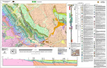 Geologic Map of the Lander 30' x 60' Quadrangle, Fremont County, Wyoming