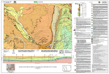 Geologic Map of the Rock Springs 30' x 60' Quadrangle, Sweetwater County, Wyoming (2010)