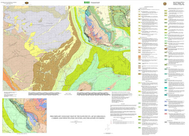 Preliminary Geologic Map of the Rawlins 30 x 60 Quadrangle Carbon