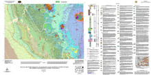Geologic Map of the Sundance 30' x 60' Quadrangle, Crook and Weston Counties, Wyoming, and Lawrence and Pennington Counties, South Dakota (2007)