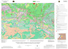 Preliminary Surficial Geologic Map of the Lysite 30' x 60' Quadrangle, Natrona, Fremont, Hot Springs, and Johnson Counties, Wyoming