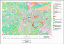 Preliminary Digital Surficial Geologic Map of the Casper 30 x 60 Minute Quadrangle, Natrona and Converse Counties, Wyoming (1998)