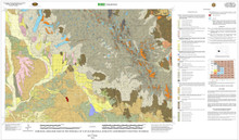 Surficial Geologic Map of the Pinedale Quadrangle, Sublette and Fremont Counties, Wyoming (2013)