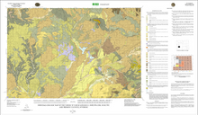 Surficial  Geologic Map of the Farson 30' X 60' Quadrangle, Sweetwater, Sublette and Fremont Counties, Wyoming