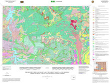 Geologic Map of the Shirley Basin 30' x 60' Quadrangle, Carbon, Natrona, Albany and Converse Counties, Wyoming