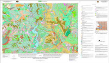 Preliminary Surficial Geologic Map of the Firehole Canyon 30' x 60' Quadrangle, Sweetwater County, Wyoming (2009)