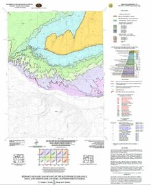 Bedrock Geologic Map of the Burntfork Quadrangle, Uinta and Sweetwater Counties, Southwestern Wyoming (2007)