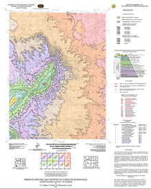Bedrock Geologic Map of the Devils Playground Quadrangle, Sweetwater County, Wyoming (2007)