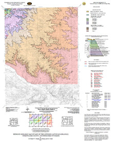 Bedrock Geologic Map of Part of the Linwood Canyon Quadrangle, Sweetwater County, Southwestern Wyoming
