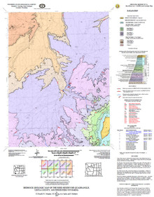Bedrock Geologic Map of the Reed Reservoir Quadrangle, Uinta County, Southwestern Wyoming
