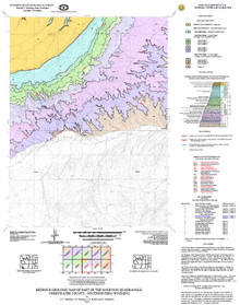 Bedrock Geologic Map of the McKinnon Quadrangle, Sweetwater County, Southwestern Wyoming (2007)