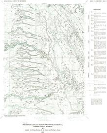 Preliminary Geologic Map of the Barnum Quadrangle, Johnson County, Wyoming