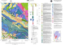 Geologic Map of the Cache Creek Quadrangle, Teton County, Wyoming