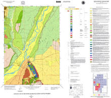 Geologic Map of the Moose Quadrangle, Teton County, Wyoming