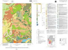 Geologic Map of the Shadow Mountain Quadrangle, Teton County, Wyoming