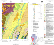 Geologic Map of the Teton Village Quadrangle, Teton County, Wyoming (2000)