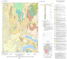 Geologic Map of the Two Ocean Lake Quadrangle, Teton County, Wyoming (2002)