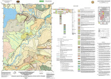 Geologic Map of the Moran Quadrangle, Teton County, Wyoming