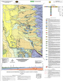Geologic Map of the Howell Quadrangle, Albany County, Wyoming (2007)