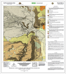 Preliminary Surficial Geologic Map of the Centennial Quadrangle, Albany County, Wyoming