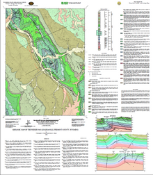 Geologic Map of the Weiser Pass Quadrangle, Fremont County, Wyoming (2008)