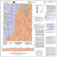 Preliminary Geologic Map of the Sherman Mountains West Quadrangle, Albany County, Wyoming (2010)