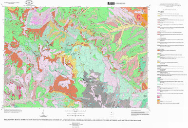 Preliminary Digital Surficial Geologic Map of the Burgess Junction
