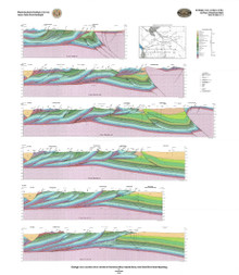 Geologic Cross Sections of the Northern Overthrust Belt and Hoback Basin, Wyoming