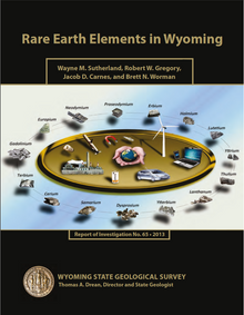 Rare Earth Elements in Wyoming (2013)