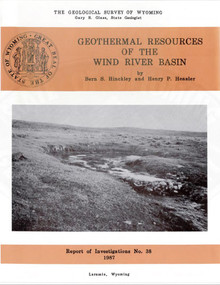 Geothermal Resources of the Wind River Basin