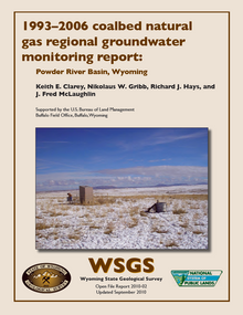 1993–2006 Coalbed Natural Gas Regional Groundwater Monitoring Report: Powder River Basin, Wyoming