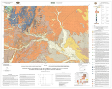Geologic Map of the Torrington 30' x 60' Quadrangle, Goshen and Platte Counties, Wyoming, and Scotts Bluff and Sioux Counties, Nebraska (2004)