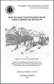 How to Make Your Wyoming Home More Earthquake Resistant (2001)