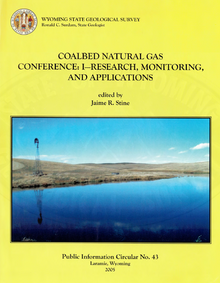 Coalbed Natural Gas Conference Part I Research, Monitoring and Applications