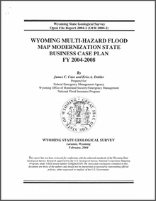 Wyoming Multi-Hazard Flood Map Modernization State Business Case Plan FY 2004–2008 (2004)