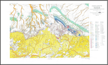 Preliminary Geologic Map of the Rattlesnake Hills 1:100,000 Quadrangle, Fremont and Natrona Counties, Central Wyoming (2002)